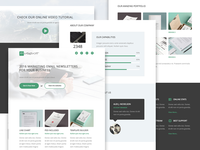Pursuit - Responsive Email + Online Template Builder
