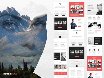 Jaynix - Responsive Email + Online Template Builder theme envato themeforest creative template psd newsletter marketing email campaign builder dynamicxx