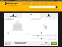 Chilexpress - Envío - Peso