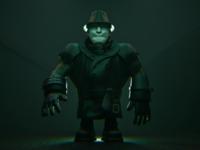Mr. X / T-00 from Resident Evil