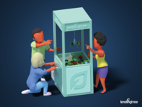 LendingTree Rebrand 3D Illustration #2