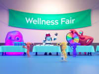 AWeber Wellness Fair