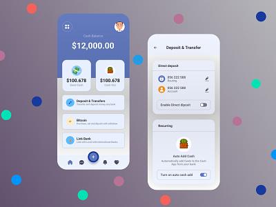 Mobile banking App financial app mobile banking mobile design banking ux ui