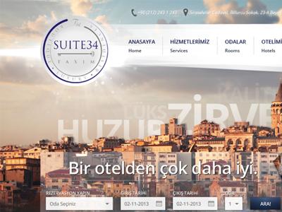 Suite34 Homepage