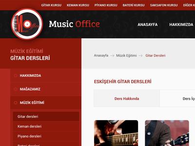 Music Office Web Site