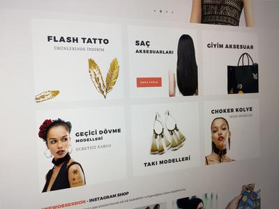 New Obsession - Fashion E-Commerce