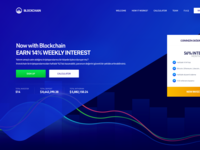 Hyip Invest Landing Page
