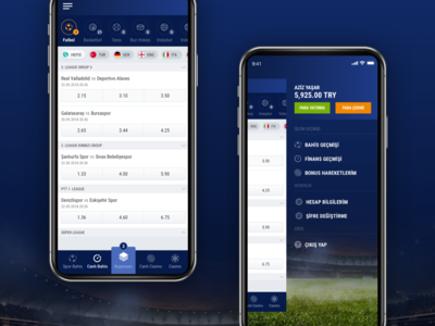 Mobile Betting App