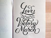 Victory March Sketch