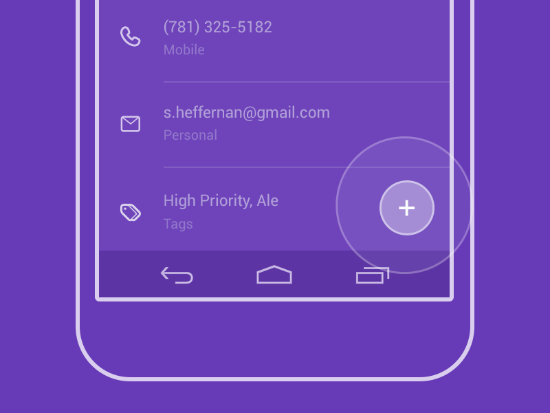 Outline Styled FTUE gmail google crm android intro onboarding ftue