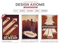 Design Axioms Website