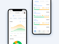 Concept - Dashboard App Mobile