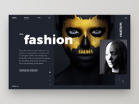 Fashion // Concept Main Page