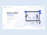 Web stuido Yppah // Main page