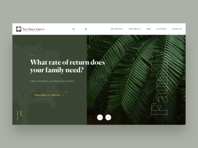 The Price Group // Redesign