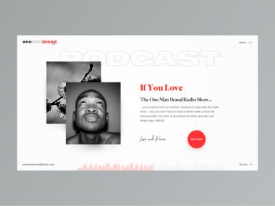 One Man Brand Radio  // Podcast Page