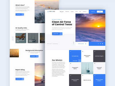 Clean Air Force //  Home Page