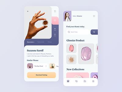Inspiration App // Product design gradient interface color creative ios mobile design mobile app mobile app design application app inspiration product design product creativity design minimal clean ui ux
