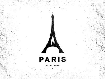 Paris black space negative piotrlogo paris france tower terrorism people mournfulness eiffel