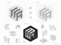 Logo Design Process. ELAD BAR AMI  / Interior Design.