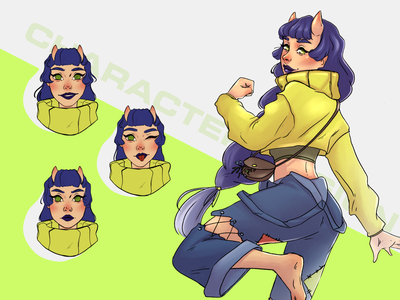 CHARACTER DESIGN | OC concept mascot character design illustration design