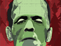 Frankenstein Illustration