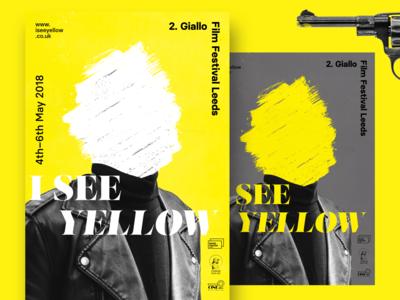 Giallo Film Festival Poster Series