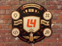 Wooden L4 Crest