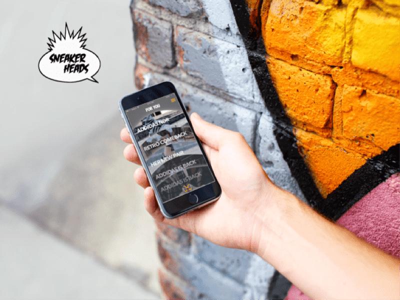 Sneaker App Design Promo promo app sneaker
