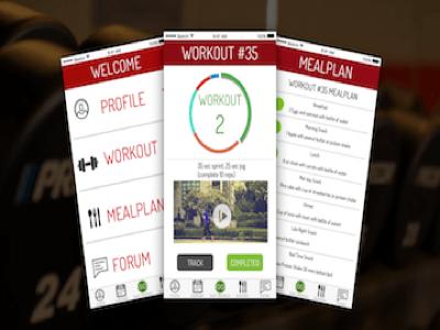 Fitness App Redesign redesign app fitness