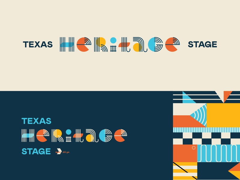State Fair of Texas Signage typography type pattern shapes lines world heritage fun geometric lettering signage texas state fair