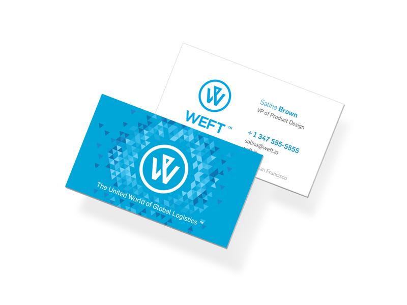 Weft Logo Redesign identity brand logo