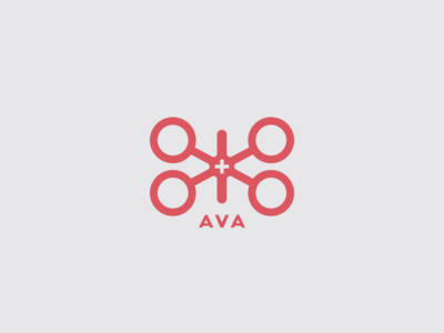AVA medical ava logo mark drone