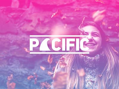 PACIFIC - Logo Design & Branding logo design typography type logo type logo-gram photoshop colourful modern logo-type logo