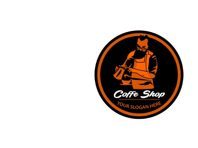 Coffe Shop Logo by Brandcrowd icon coffe illustration logo