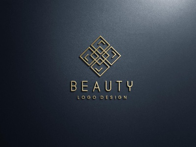 Minimal Beauty product logo design for $35 illustration design graphic design bea branding logo