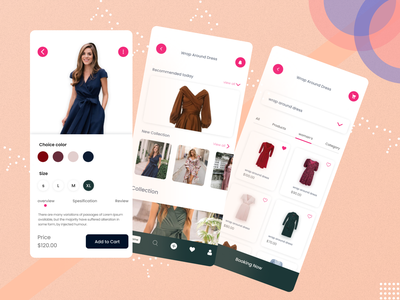 Clothing Store Mobile Apps user interface designe ui ui design uiux mobile app mobile mobile ui mobile app design shop shopping cart bussines fashion apps style women brand online store scanner clothes fashion fashion design