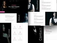 Creative Personal Portfolio Template