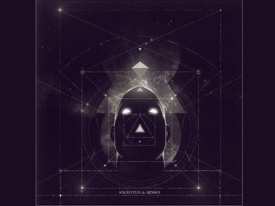 Φ.Χ.Ψ.Ω geometry cover art digital