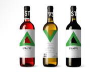 Stratvs Wine Branding & Bottle Design