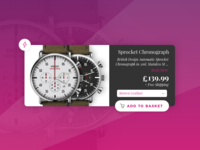 Sprocket Watch Special Offer - Daily UI #036