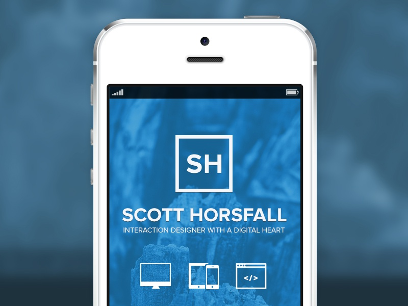 Responsive Portfolio portfolio web mobile iphone responsive