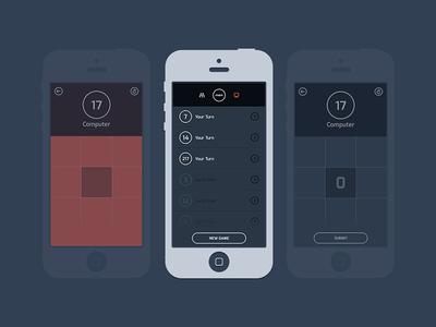 MEM - Single Player behance ios7 ios iphone mobile memory pattern mem iphone game