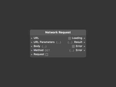 Origami Studio, now with Network Requests