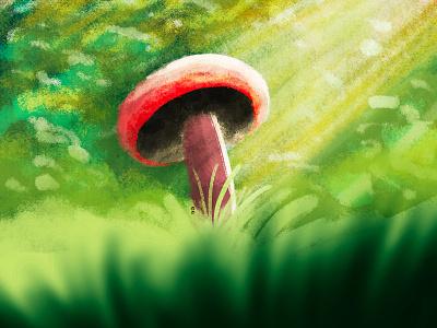 Mushroom mushroom art nature art nature illustration nature texture texture brushes mushroom illustration mushroom drawing procreate art procreate doodle drawingart illustration drawing mushroom