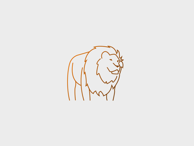Line Art Lion : Lion line drawing by jayana silva dribbble