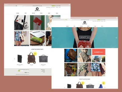 Emanuel ui ux e-commerce web design