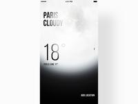 Weather App - Night Mode