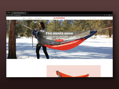Homepage Update - Spring 2020 design animation ux  ui web design update homepage kammok