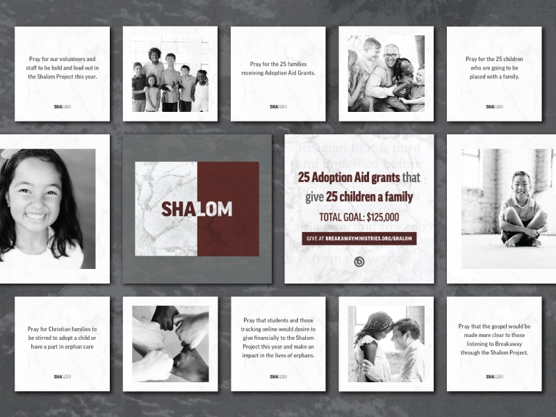 Shalom print projects